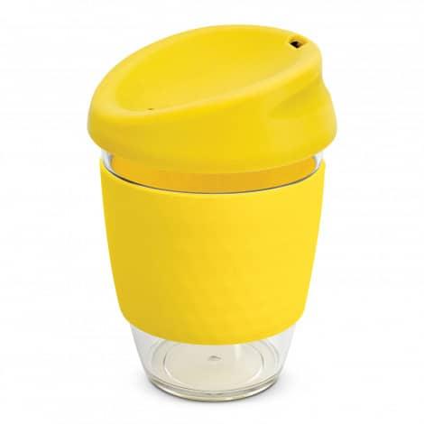 Nova Cup Tritan Clear Plastic 340ml Logo Promotional Reusable Coffee Cup 200306 Yellow