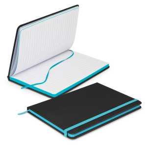 Omega Black Notebook 113892 Light Blue
