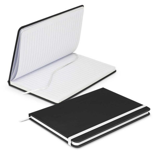 Omega Black Notebook 113892 White