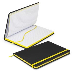 Omega Black Notebook 113892 Yellow