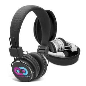 Opus Bluetooth Headphones CA112785 Black White with Case