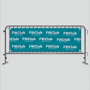 Outdoor Mesh Banners Custom Sizes CA13219 Various Colours Branded