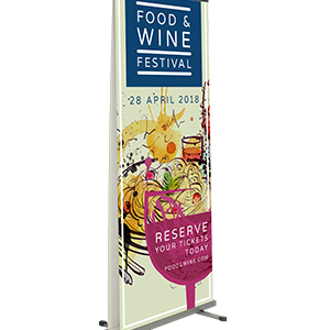 Outdoor Pull Up Banner CA13208 Various1