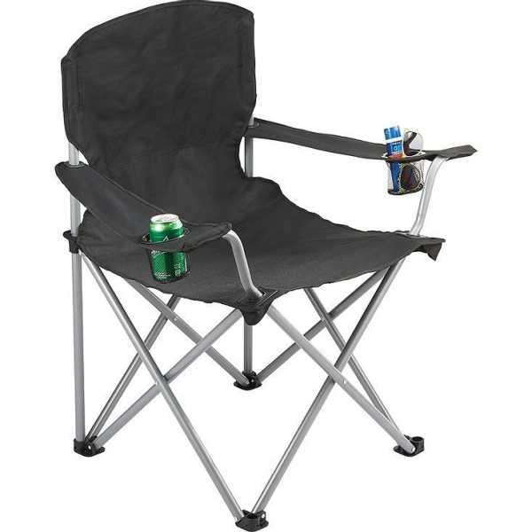 Oversized Folding Chair TK1028BK Black