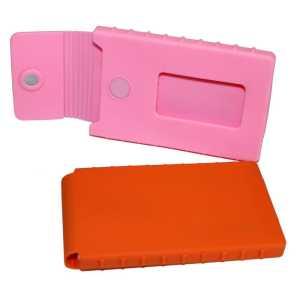 PVC Business Card Holder PVC 11 Pink Orange
