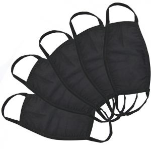 Pack of 5 Armour Face Masks LL6021 Black