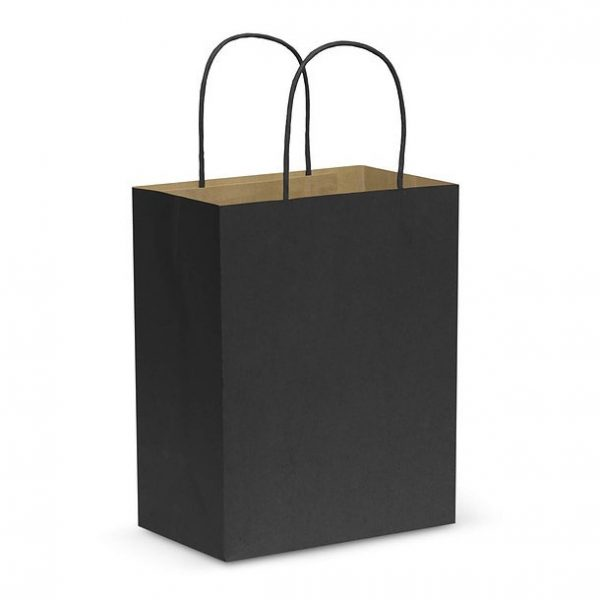 Paper Carry Bag CA107586 Black Medium