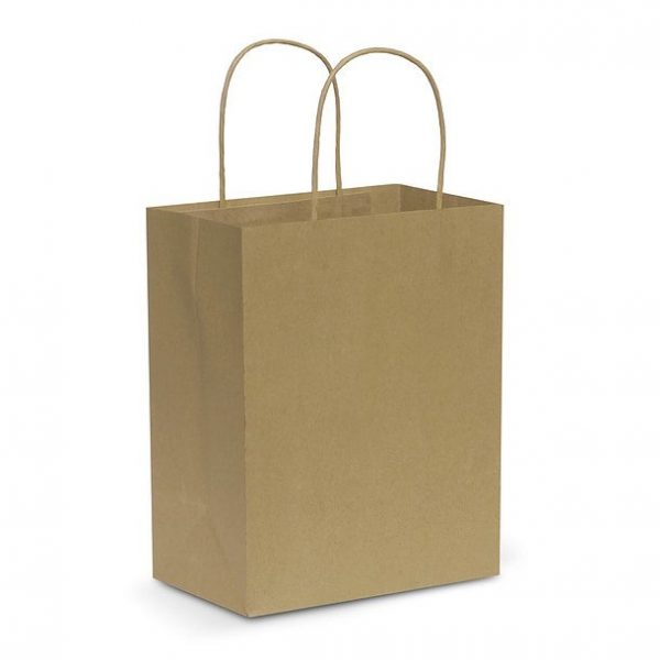 Paper Carry Bag CA107586 Natural Medium