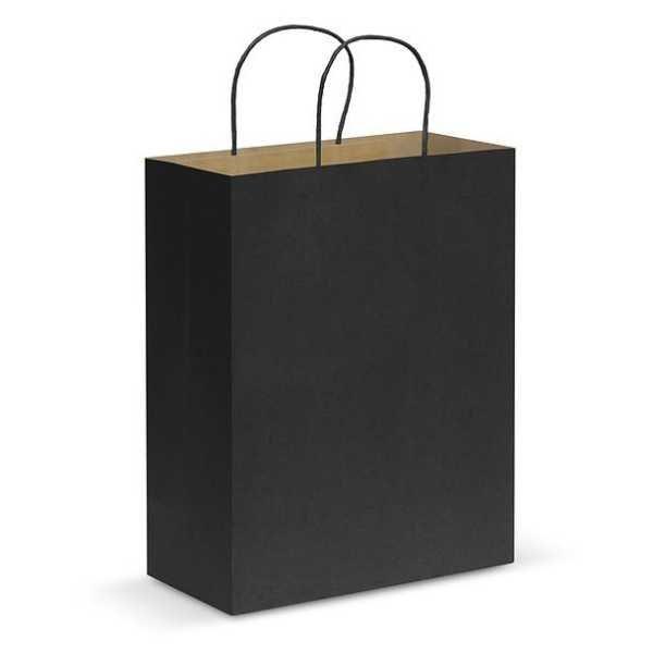 Paper Carry Bag CA107590 Black Large