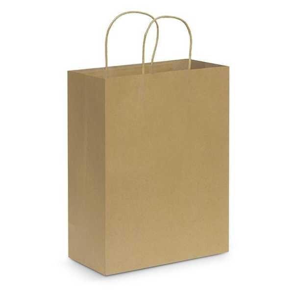 Paper Carry Bag CA107590 Natural Large