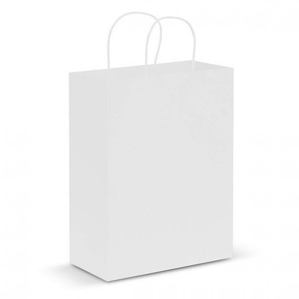 Paper Carry Bag CA107590 White Large