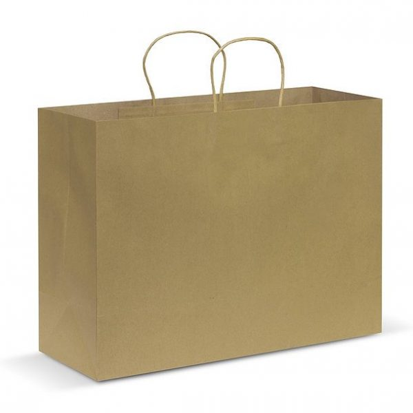 Paper Carry Bag CA107594 Natural Extra Large