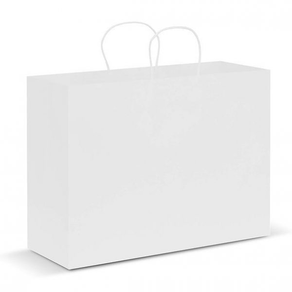 Paper Carry Bag CA107594 White Extra Large