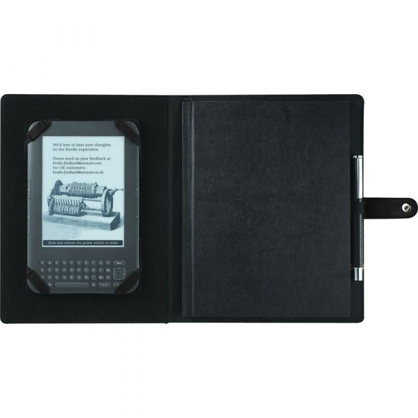 Pedova ETech JournalBook with Snap Closure CA9138BK Black Tablet Sleeve 2