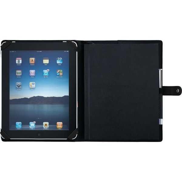 Pedova ETech JournalBook with Snap Closure CA9138BK Black Tablet Sleeve