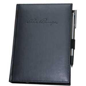 Pedova Large Bound JournalBook 9195BK Black Branded
