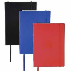 Pedova Large Ultra Soft Bound JournalBook CAJB1006BK Black Blue Red