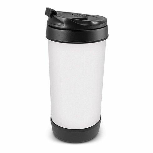 Perka Coffee Cup with Neoprene Sleeve 105670 White