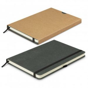 Phoenix Recycled Hard Cover Notebook 200234 Black