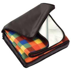 Picnic Rug in Carry Bag CA7854BK Brown Folded in Carry Bag