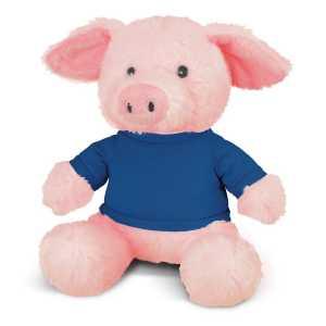 Pig Plush Toy CA117861 Blue
