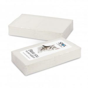 Pocket Promo Tissues 102159 White