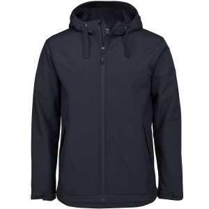 Podium Hood Soft Shell Jacket Unisex 3WSH Black
