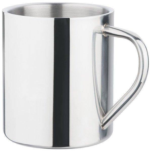 Polished Stainless Steel Mug 4031SL Silver