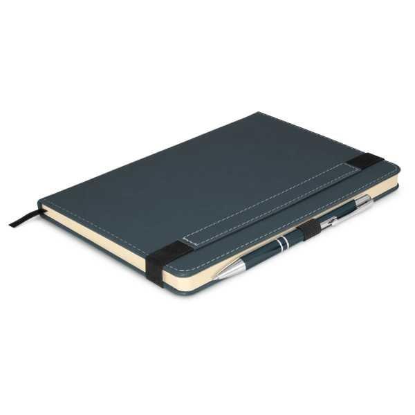 Premier Notebook Whit Pen 110461 Grey