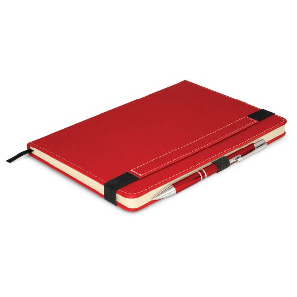 Premier Notebook Whit Pen 110461 Red