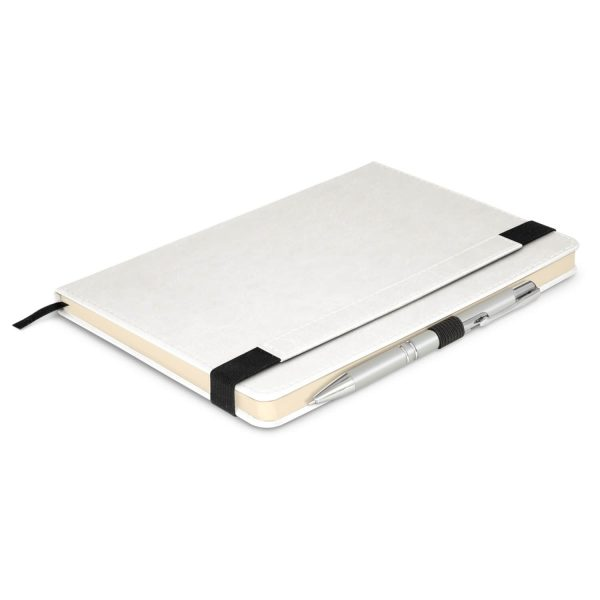 Premier Notebook Whit Pen 110461 White