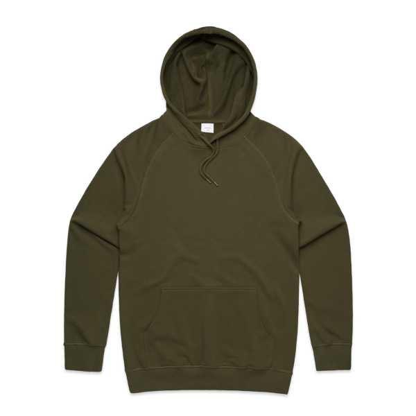 Premium Hoodie Mens Army