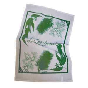Printed Tea Towels CAKL129 Green