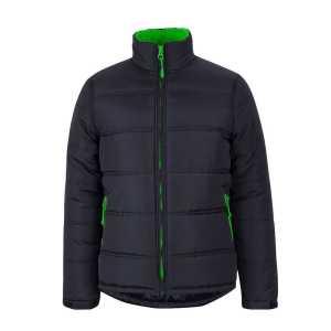 Puffer Contrast Jacket Unisex 3ACJ Green