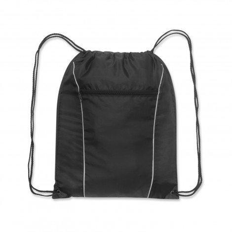Ranger Drawstring Backpack Black