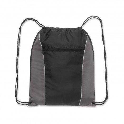 Ranger Drawstring Backpack Grey