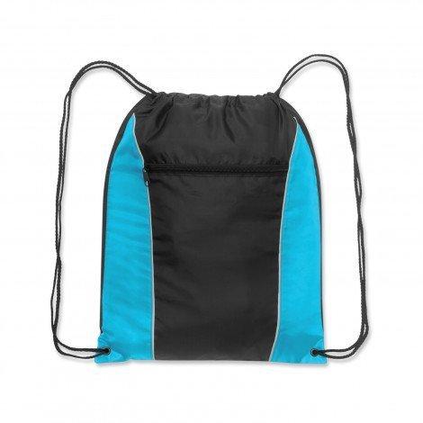 Ranger Drawstring Backpack Light Blue