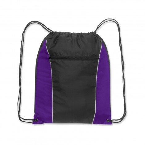 Ranger Drawstring Backpack Purple