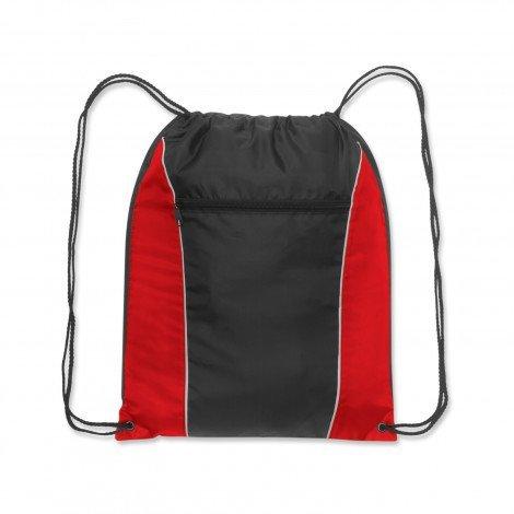 Ranger Drawstring Backpack Red