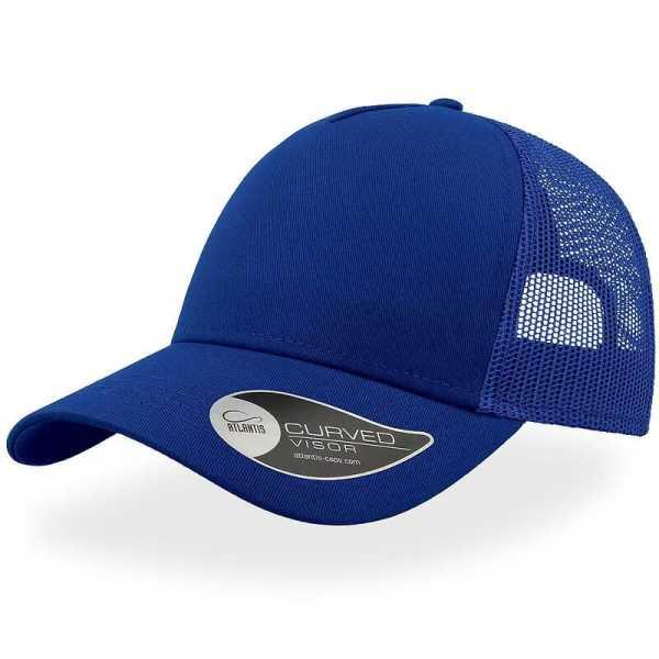 Rapper Cotton Trucker Cap A2650 Blue