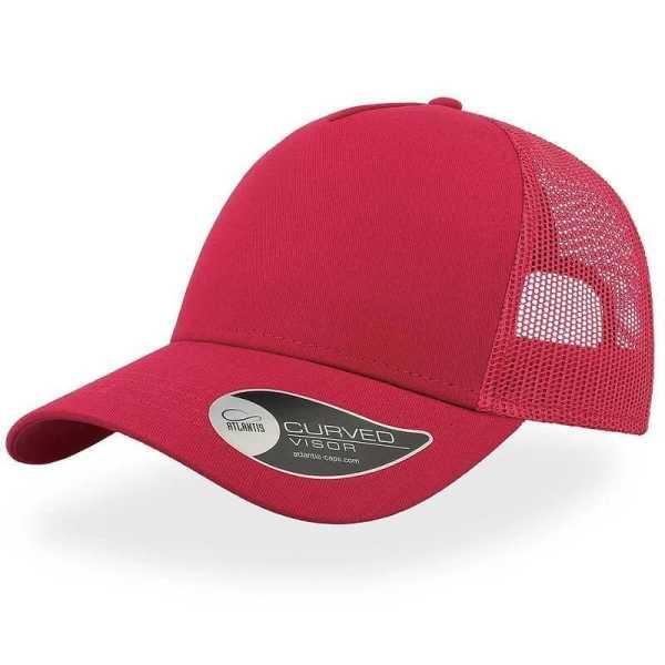 Rapper Cotton Trucker Cap A2650 Red