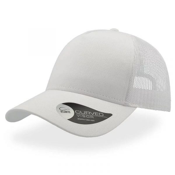 Rapper Cotton Trucker Cap A2650 White