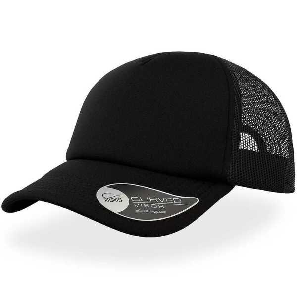 Rapper Trucker Cap A2500 Black