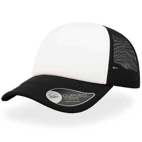 Rapper Trucker Cap A2500 White Black