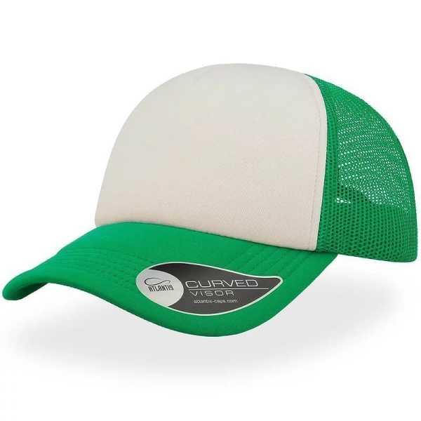 Rapper Trucker Cap A2500 White Green