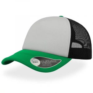 Rapper Trucker Cap A2500 White Green Black