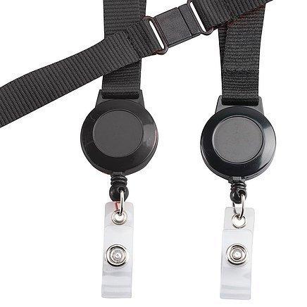 Retractable Badge Holder CA216BK Black
