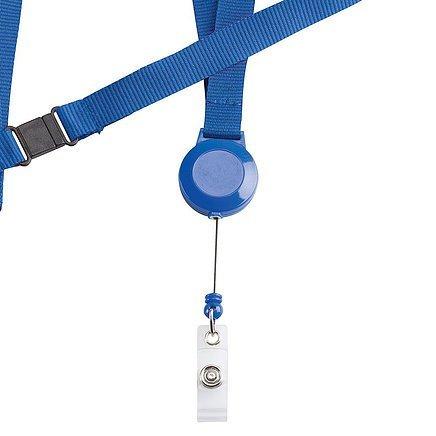 Retractable Badge Holder CA216BK Blue