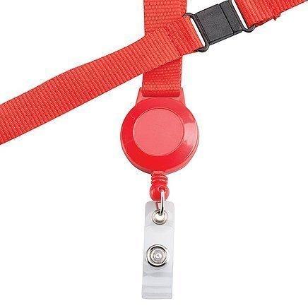 Retractable Badge Holder CA216BK Red