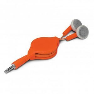 Retractable Earbuds CA106936 Orange